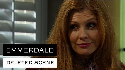 Emmerdale Deleted Scene - Bernice tells Chrissie she should get a new man