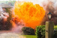 Mill cottage explosion