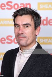 Jeff Hordley inside soap