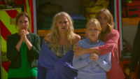 Megan-Tracy-Vanessa-Charity watch Frank die