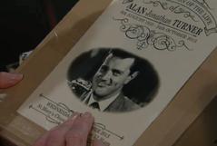 Alan funeral card