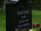 Robbie Lawson's gravestone