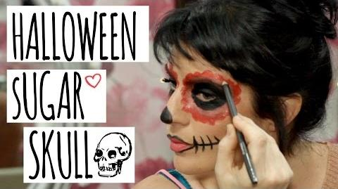 Halloween Sugar Skull Hack Kerry's Make-up Hacks