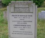 Chris and Frank Tate's gravestone