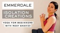 Morning Yoga for Beginners with Roxy Shahidi (Leyla From Emmerdale) - Isolation Creations