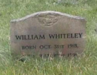 Bill Whiteley gravestone