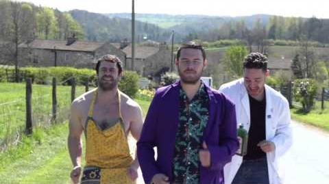 Danny Miller & Emmerdale cast lip syncs Is This The Way To Amarillo?