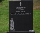 James Barton grave