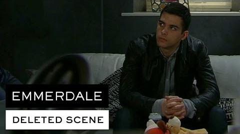 Emmerdale Deleted Scene - Adam loses it over Vanessa's secret