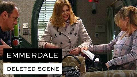 Emmerdale Deleted Scenes - Nicola And Jimmy Discuss Dubai