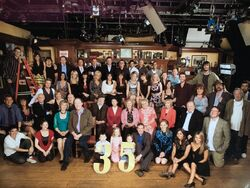 Emmerdale 35th Anniversary Cast
