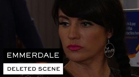 Emmerdale Deleted Scene - Kerry Makes A Pass At Connor
