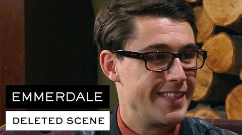 Emmerdale Deleted Scene - Finn's new boyfriend