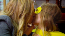 Charity kisses Vanessa