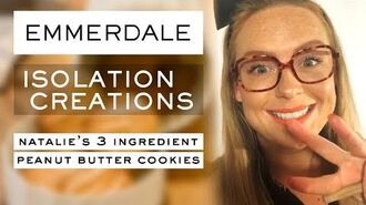 Easy 3 Ingredient Peanut Butter Cookie Recipe - Emmerdale's Natalie Jamieson - Isolation Creations