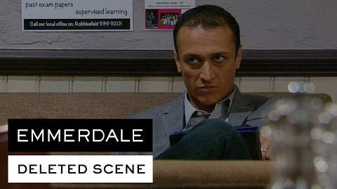 Emmerdale Deleted Scene - Jai tells Rishi to stay away