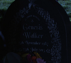 Gennie Walker gravestone