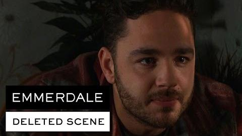 Emmerdale Deleted Scene - Adam Reveals What He Knows