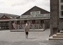 Hotten Cattle Market in 1986