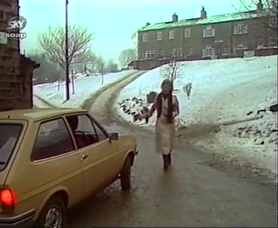 Emmie demdyke in snow 1979