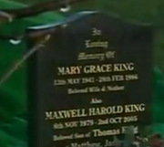 Emmie mary king grave