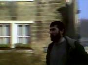Emmie tom merrick outside pub 1982
