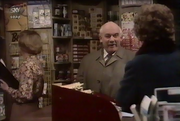 Emmie shop scene 23 Feb 1976