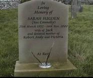 Emmie sarah sugden grave