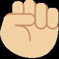 Oobi Grampu Hand Raised Fist Emoji - Twitter