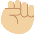 File:Oobi Grampu Hand Raised Fist Emoji - Twitter.png
