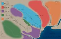 Political Map- the plains