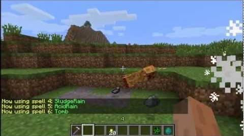 Magical Spells - A Minecraft Bukkit Plugin