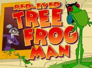 Red-Eyed Tree Frog Man