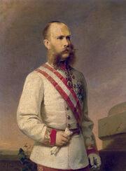 Franz Russ jr Franz Joseph I 1870