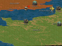 The Hundred Years' War Begins Map