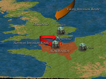 The Battle of Hastings Map
