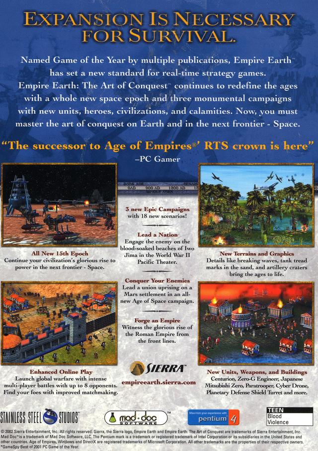 Empire earth the art of conquest empire earth wiki fandom empire earth the art of conquest empire earth wiki fandom powered by wikia gumiabroncs Images