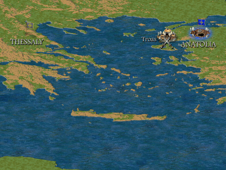 The Early Helladic People Map