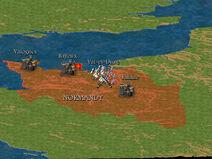 William, Duke of Normandy Map