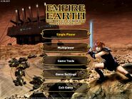 Empire Earth Art of Conquest Menu
