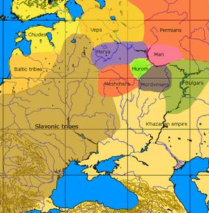 Rough map