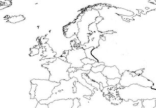 Map in Europe