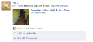 Jay-Z posts Swordfish Hotkiss Night