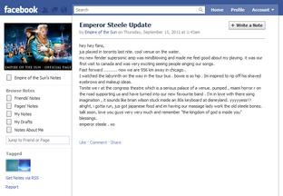 Emperor Steele Update