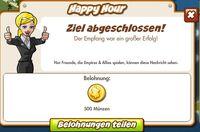 Happy Hour Belohnung (German Reward text)