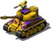 Blazing Blaser Tank