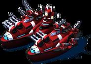 Elite Twin Orca Battleship