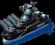 SpecOps Man O' War Battleship