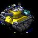 Sherman Tank Yellow
