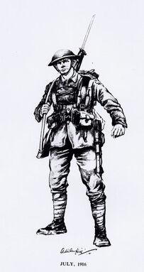 Light infantry ww1